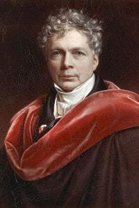 Ritratto di Friedrich Schelling (Leonberg, 1775 - Bad Ragaz, 1854). Dipinto di Joseph Karl Stieler, 1835. 71x58 cm. Monaco