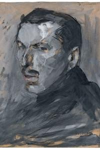 Autoritratto di Umberto Boccioni. Collezione della Pinacoteca del Castello Sforzesco, Milano