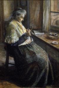 La madre di Umberto Boccioni
