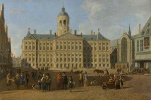 Municipio, Amsterdam, Paesi Bassi. Gerrit Adriaensz Berckheyde, 1693