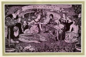 Giovanni Boccaccio, illustrazione