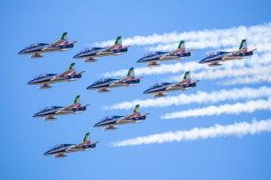 Aeronautica militare: le Frecce tricolori