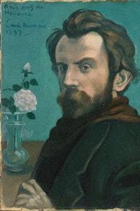 Autoritratto di Émile Bernard, 1897. Collezione Rijksmuseum, Amsterdam