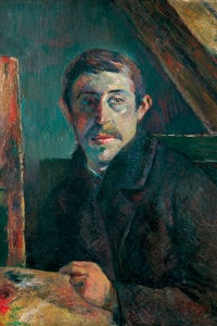 Autoritratto di Paul Gauguin, 1885. Olio su tela 65,2 x 54,3 cm. Kimbell Art Museum, Fort Worth, Texas