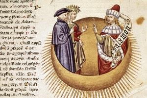 Miniatura della Divina Commedia