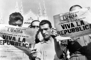 Proclamazione della Repubblica italiana, 1946. 10 giugno: l'annuncio sui giornali italiani