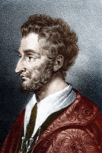 Pierre de Ronsard (1524-15858): poeta francese; uno dei fondatori del gruppo Pléiade nel 1549
