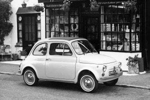 La Fiat 500, un simbolo del miracolo economico italiano