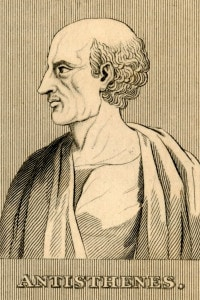 Antistene, filosofo cinico  (445 a.C.-365 a.C.)