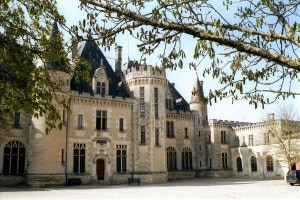 Castello di Michel de Montaigne. Edifici ricostruiti nel XVIII secolo