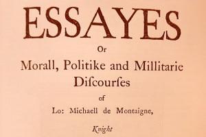 Essais di Michel de Montaigne