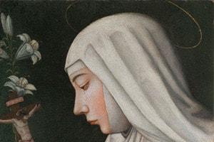 Santa Caterina da Siena, una delle protagoniste della letteratura mistica femminile