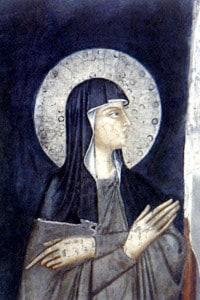 Santa Chiara d'Assisi, XIV sec. Convento di San Damiano
