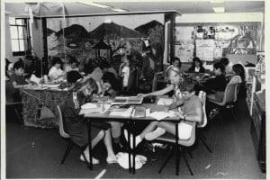 Classe di bambini dotati alla Summerhill School, 14 marzo 1986