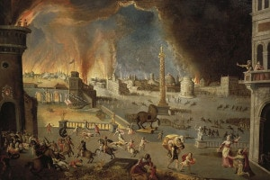 Un'immagine della guerra di Troia