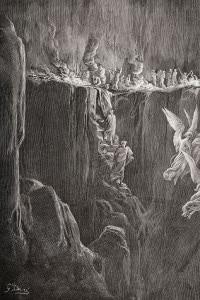Illustrazione del Purgatorio di Dante