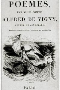 Frontespizio dei Poèmes di Alfred de Vigny, 1829
