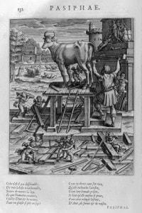 Pasifae, madre del minotauro