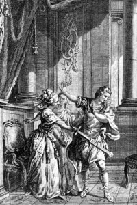 Illustrazione per Phèdre, tragedia di Jean Racine