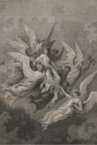 Apparizione di Beatrice nel canto XXX del Purgatorio