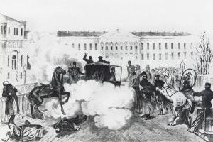 Assassinio dello Zar Alessandro II a San Pietroburgo, 13 marzo 1881