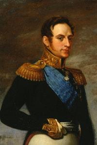 Nicola I di Russia, 1826. La sua aggressiva politica estera nei confronti dell'Impero Ottomano culminò con la guerra di Crimea