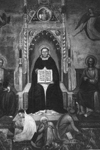 San Tommaso d'Aquino, 1269. Filosofo e teologo italiano