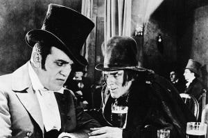 Un'immagine del film del 1920 tratto dall'opera di Stevenson