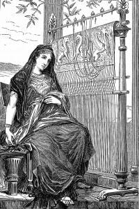 Penelope e il suo telaio