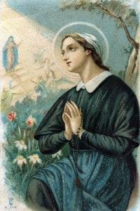 Angela Merici (1474-1540). Fondò a Brescia la Compagnia delle dimesse di sant'Orsola nel 1535. Proclamata santa da Papa Pio VII nel 1807