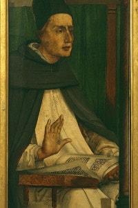 """Alberto Magno, filosofo e teologo tedesco, noto anche come """"Alberto il Grande"""" o """"Alberto di Colonia"""""""