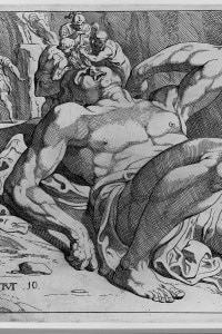 Ulisse sconfigge Polifemo di Theodor van Thulden