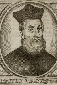 Ritratto di Maffeo Vegio, umanista italiano (1407-1458)
