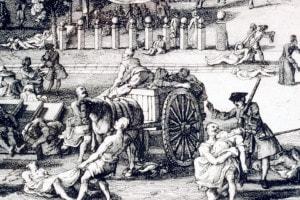 La peste a Marsiglia del 1700