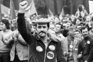 Celebrazioni in Spagna per il Primo maggio nel 1978