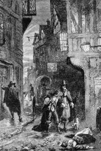 Grande peste di Londra, 1655. L'epidemia uccise il 20% della popolazione londinese tra il 1655 e il 1666