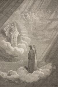 Dante e Beatrice incontrano Cacciaguida