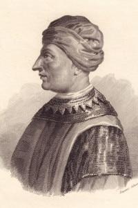 Ritratto di Cangrande I della Scala (1291-1329)