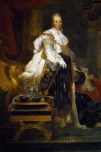 Ritratto di Carlo X di Francia (Versailles, 1757 - Gorizia, 1836)