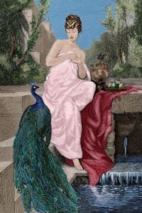 Elena di Troia. Moglie di Menelato, rapita da Paride che scatenò la guerra di Troia