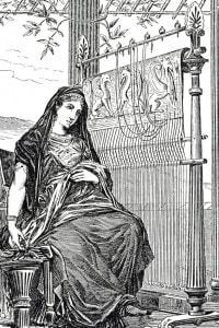 Penelope e la tela