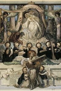 Illustrazione del Canto XXXIII del Paradiso di Dante