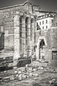 Il Foro di Augusto, uno dei fori imperiali di Roma