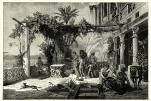 L'imperatore romano Tiberio a Capri