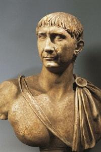 Busto dell'imperatore Traiano