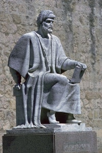 Statua di Averroè da Cordova, XII secolo