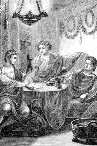 Orazio e Mecenate