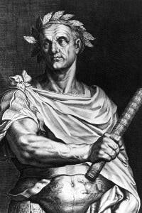 Giulio Cesare, 50 a.C.