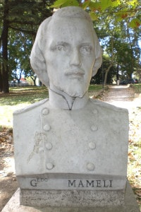 Busto di Goffredo Mameli al Gianicolo, Roma