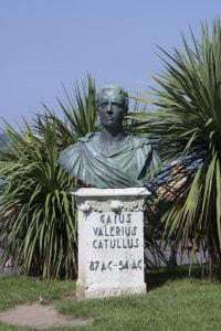 Busto di Gaio Valerio Catullo a Sirmione